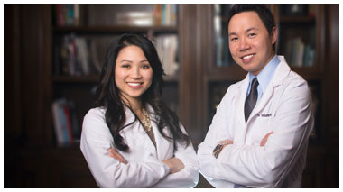 Dr. William Nguyen and Dr. Hieu Le